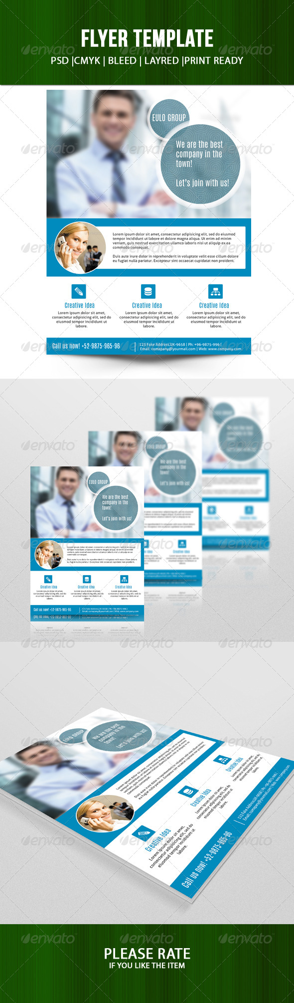 GraphicRiver Business Flyer Template-V96 8495279