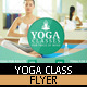 Yoga Flyer Template - GraphicRiver Item for Sale