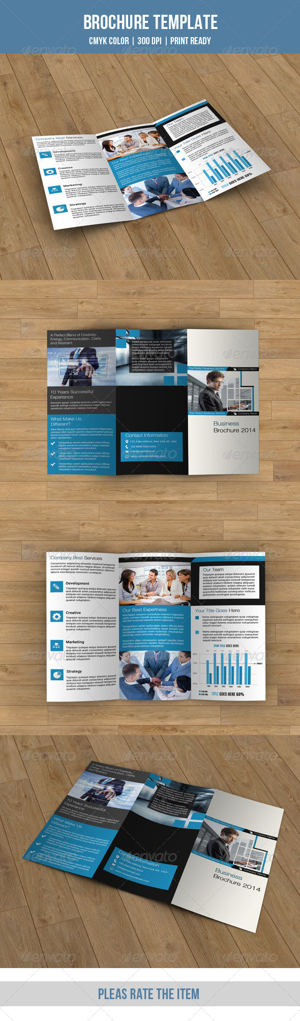GraphicRiver Trifold Business Brochure-V42 8495345