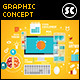 Flat Concept For Branding, Marketing & Designing - GraphicRiver Item for Sale
