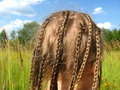 little girl with a lot of braides - PhotoDune Item for Sale