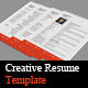 Creative Resume Templates  - GraphicRiver Item for Sale