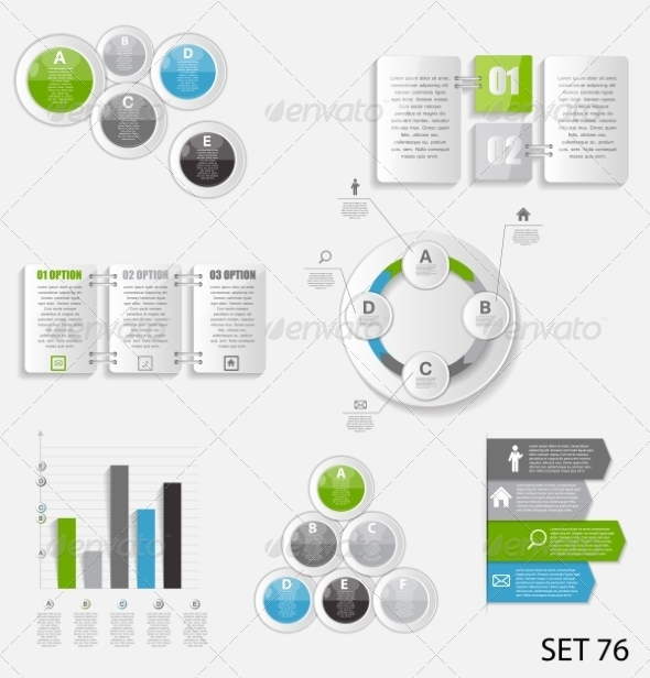 GraphicRiver Collection of Infographic Templates for Business 8495932
