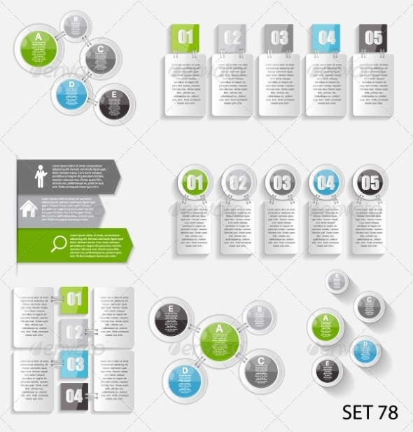 GraphicRiver Collection of Infographic Templates for Business 8495933