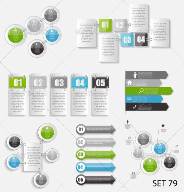 GraphicRiver Collection of Infographic Templates for Business 8495937