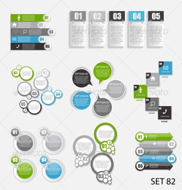 GraphicRiver Collection of Infographic Templates for Business 8495939