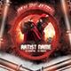 Hip Hop Mixtape Album CD Cover Template  - GraphicRiver Item for Sale