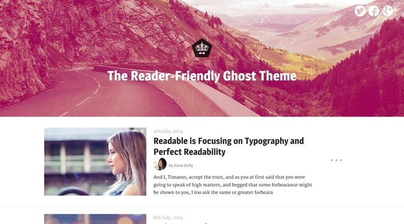 ThemeForest Readable A Theme Focusing on Readability 8284254