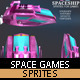 Spaceship Games Sprites - GraphicRiver Item for Sale