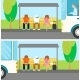 People Waiting at the Bus - GraphicRiver Item for Sale