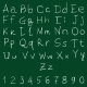 Vector Handwritten Alphabet with Numbers - GraphicRiver Item for Sale