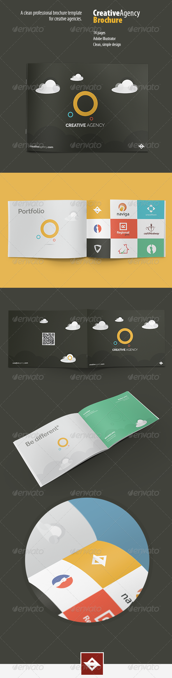 GraphicRiver Agency Brochure 8493902