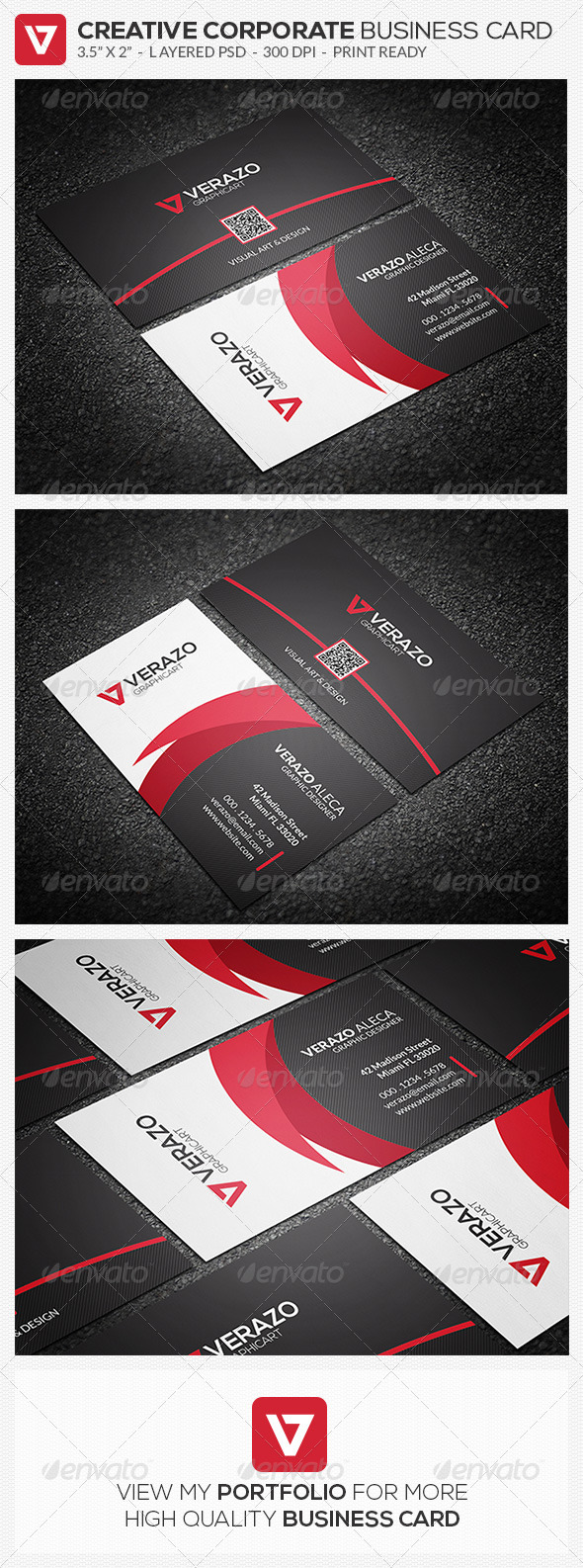 GraphicRiver Modern Corporate Business Card 53 8496636