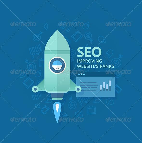 GraphicRiver Seo Concept of Website Optimization 8496979