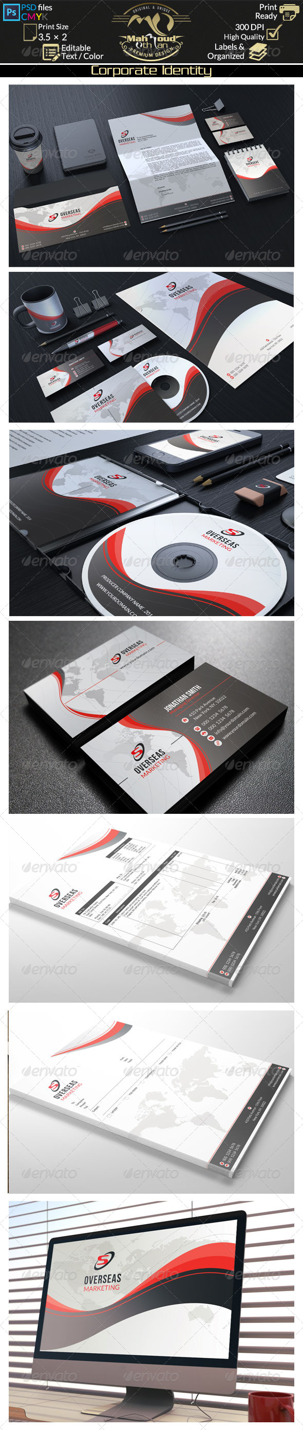 GraphicRiver Modern Corporate Identity 02 8497148