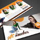Beauty Fashion Gift Voucher V29 - GraphicRiver Item for Sale
