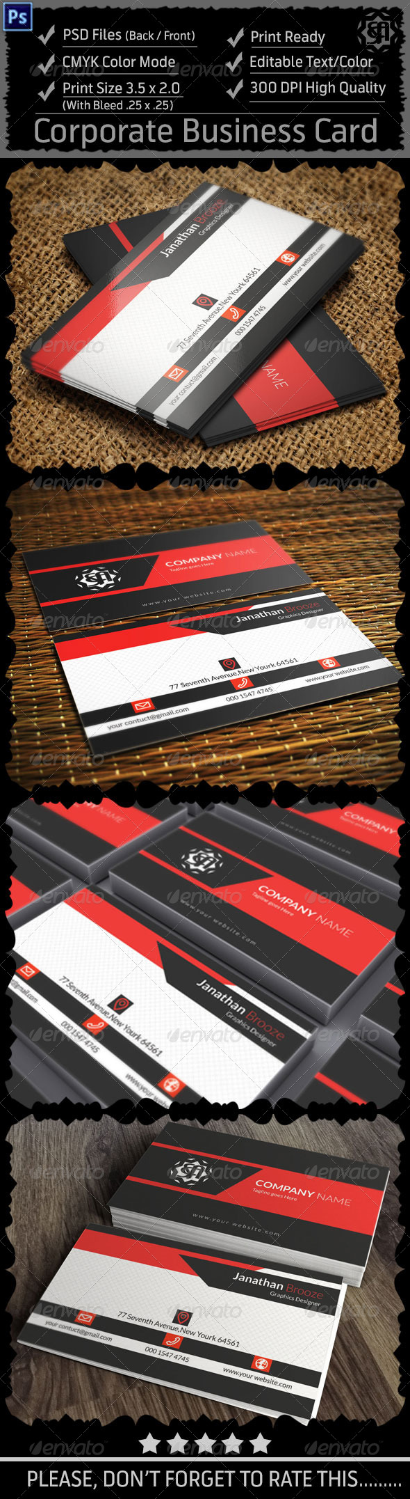 GraphicRiver Corporate Business Card Vol 7 8497952