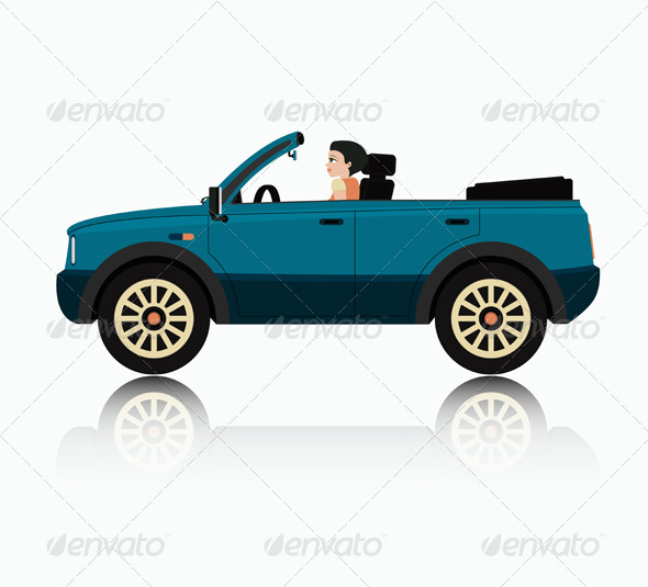GraphicRiver 4x4 Car 8498008