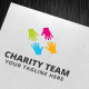 Charity Team Logo Template - GraphicRiver Item for Sale