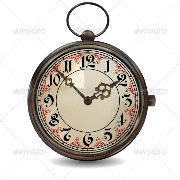 GraphicRiver Rusty Pocket Watch 8498153