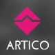 Artico - One Page Parallax Muse Template