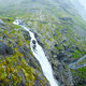 Summer waterfall on mountain slope (Norway). - PhotoDune Item for Sale