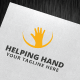 Helping Hand Logo Template - GraphicRiver Item for Sale