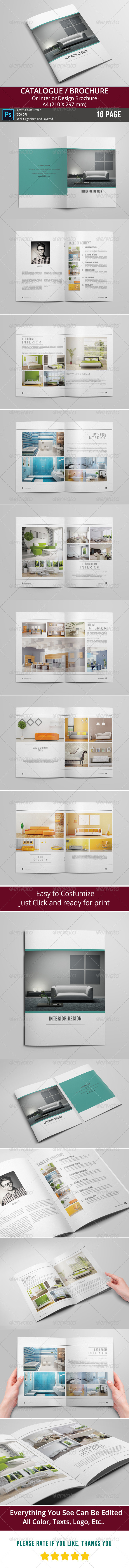 GraphicRiver Catalogue Brochure 8498821