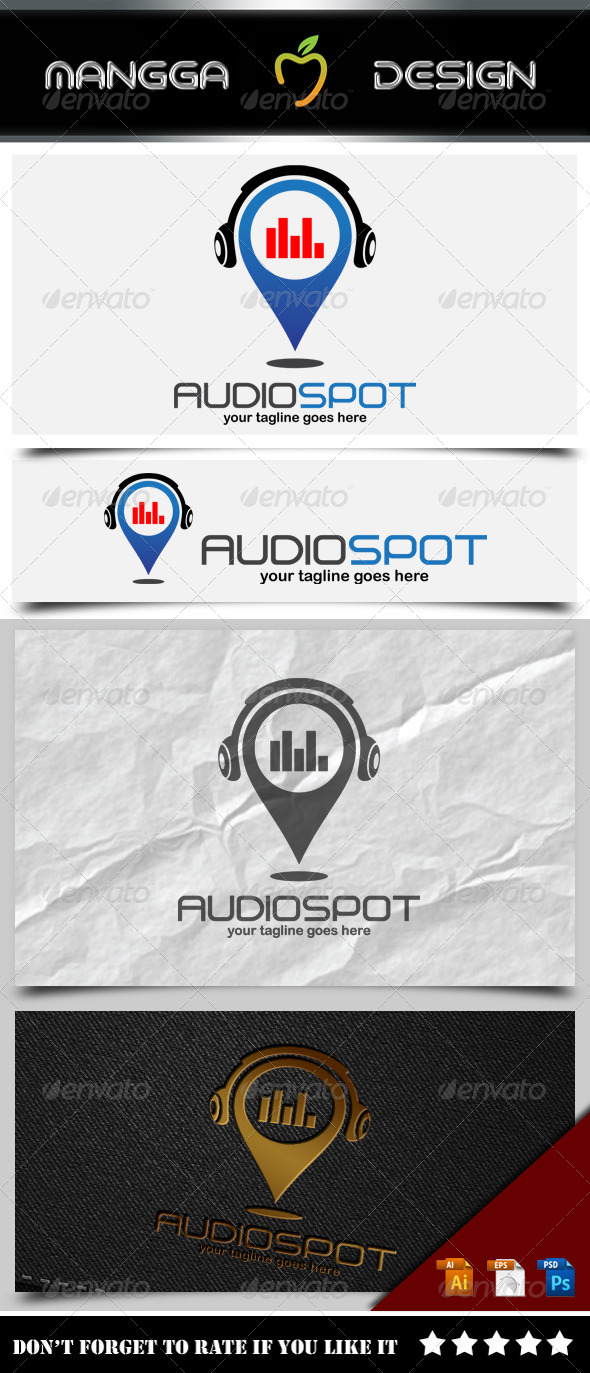 GraphicRiver Audio Spot Logo 8498837
