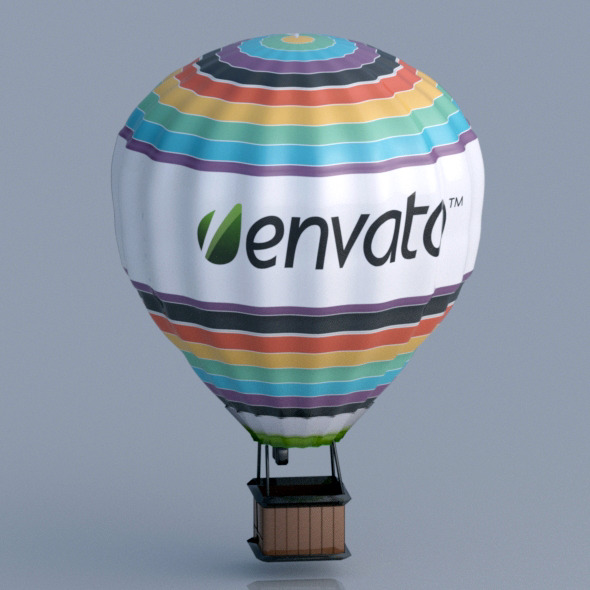 3DOcean 3D Air Balloon 8376908