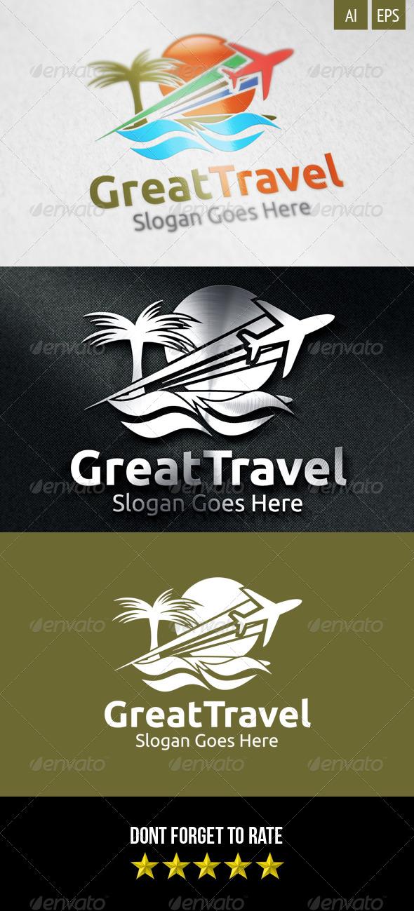 GraphicRiver Great Travel Logo 8499011