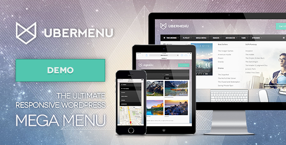دانلود UberMenu - WordPress Mega Menu Plugin