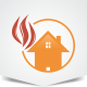 Flame House Logo - GraphicRiver Item for Sale