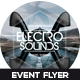 Electro Sounds Event Flyer Design - GraphicRiver Item for Sale