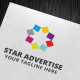 Star Advertise Logo Template - GraphicRiver Item for Sale