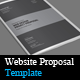 Website Project Proposal Template - GraphicRiver Item for Sale