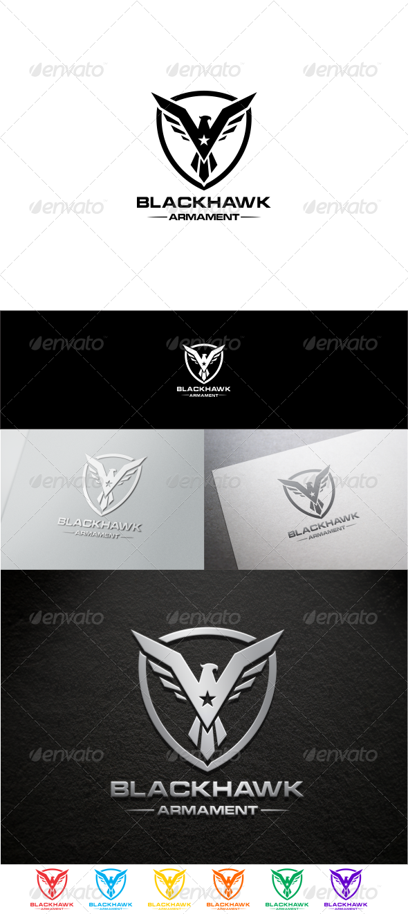 GraphicRiver Black Hawk 8422334