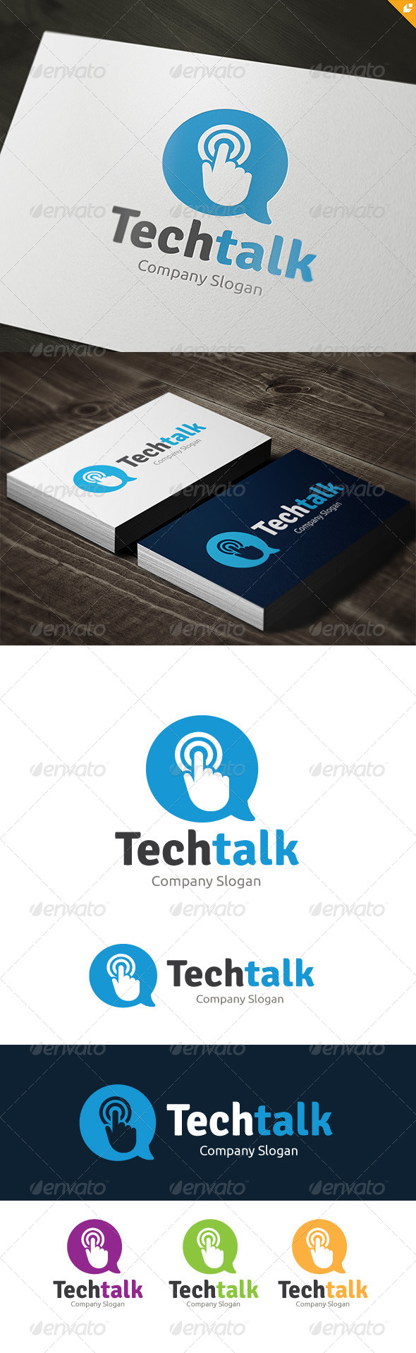 GraphicRiver Tech Talk 8500162