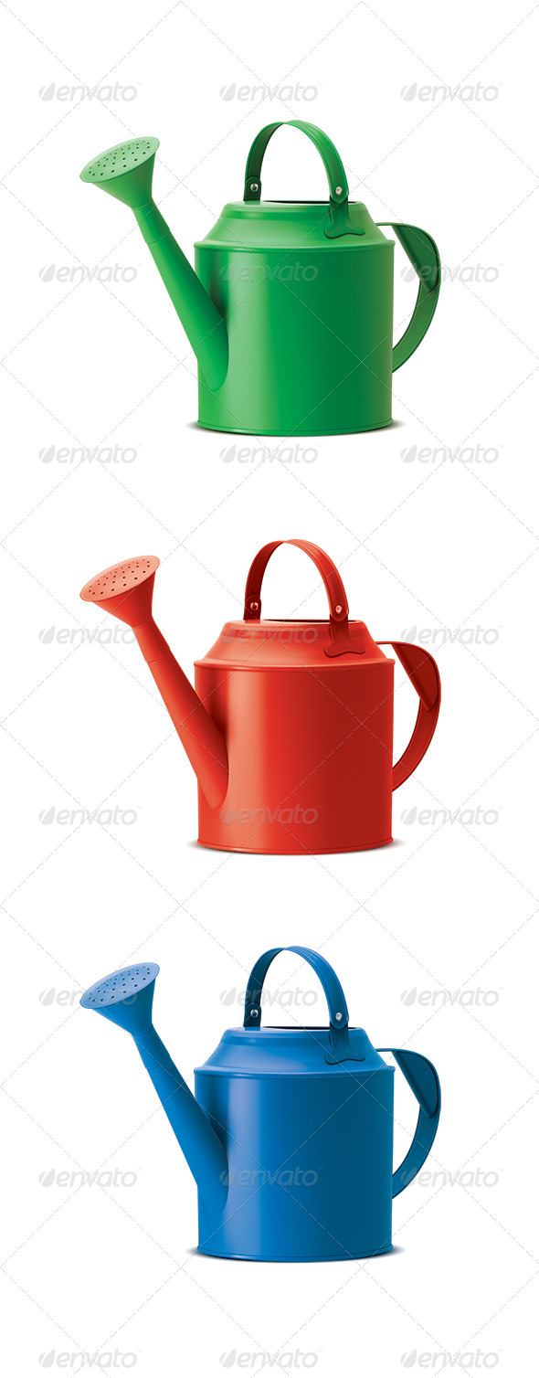 GraphicRiver Watering Cans 8500604