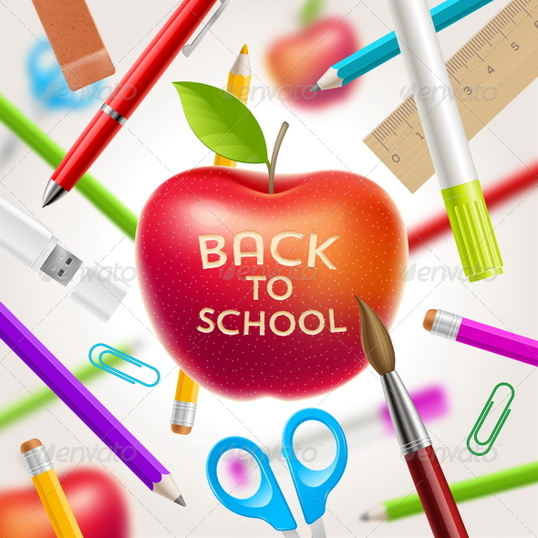 GraphicRiver Back to School Vector Illustration 8500663