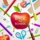 Back to School Vector Illustration - GraphicRiver Item for Sale