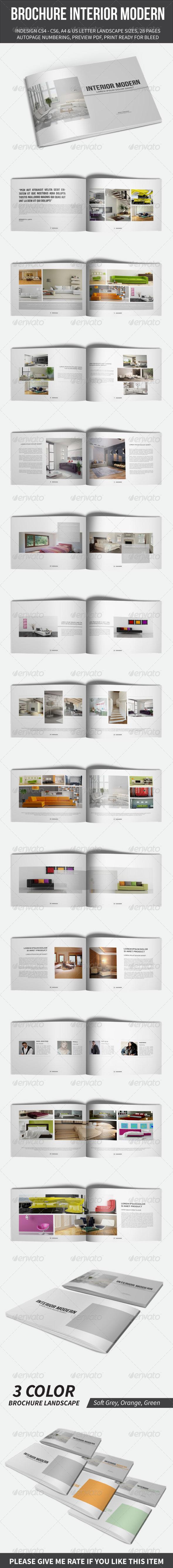 GraphicRiver Brochure Interior Modern Template 8500707