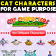 Cat Characters - GraphicRiver Item for Sale