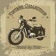 Vintage Motorcycle Poster - GraphicRiver Item for Sale