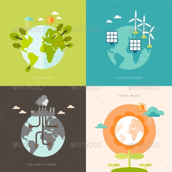 GraphicRiver Ecology Concept 8501194