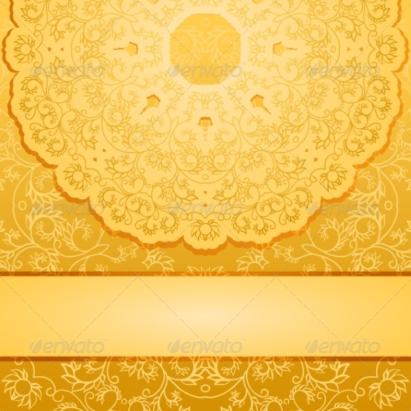 GraphicRiver Elegant Gold Background 8501334