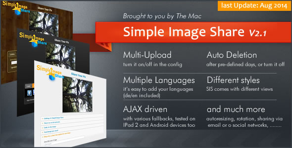 Simple Image Share - CodeCanyon Item for Sale