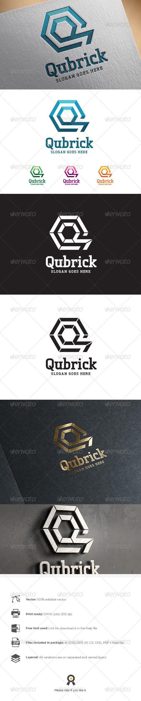 GraphicRiver Q Letter Logo 8501797