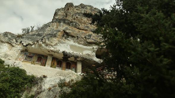 Old Church Made In Rock Mountain 2