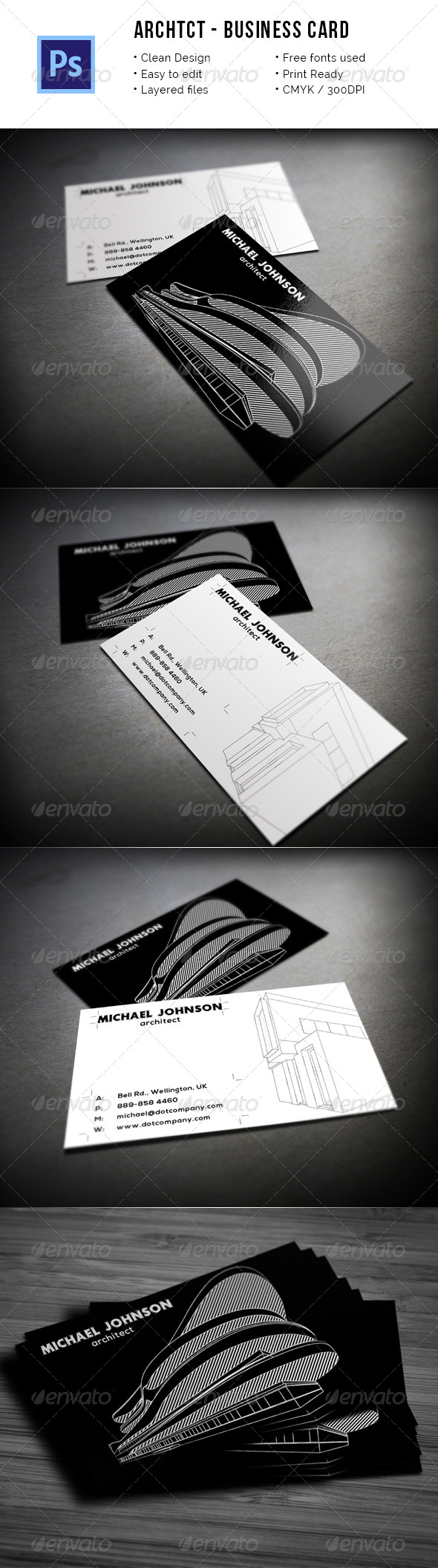 Industry Specific Business Card Templates from GraphicRiver (Page 29)